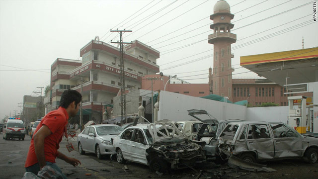 Lahore Mosque attack